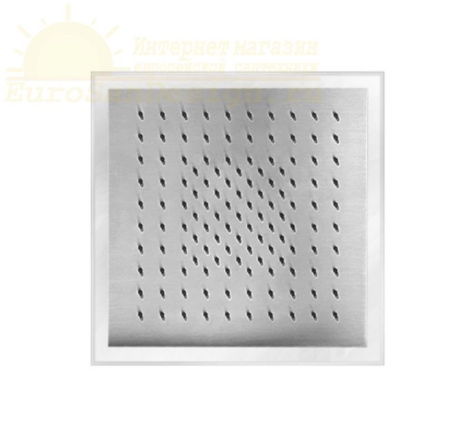 Верхний душ Fantini Acquafit K002 квадратной формы 30х30 ФОТО