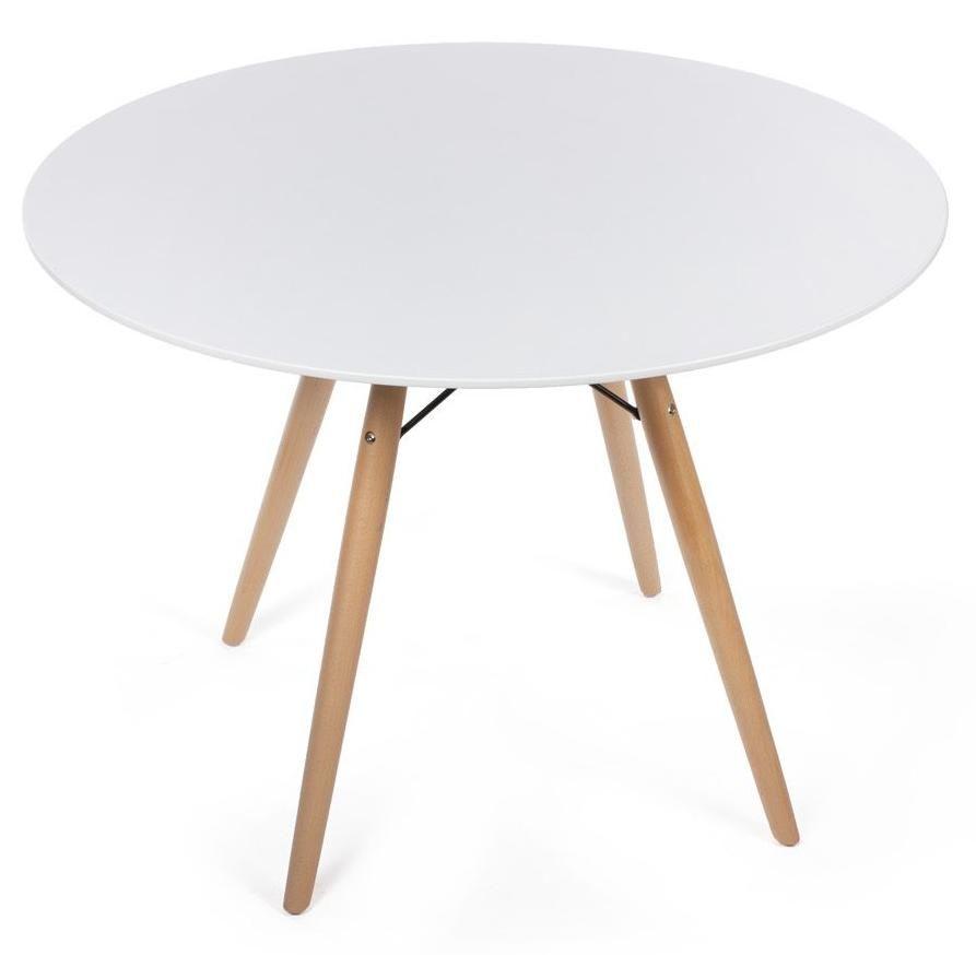 Стол Eames белый 90 см