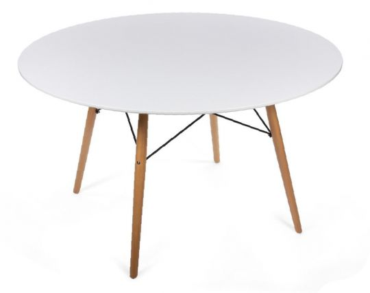 Стол Eames белый 120 см