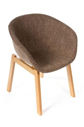 Кресло Hee Welling textile коричневое
