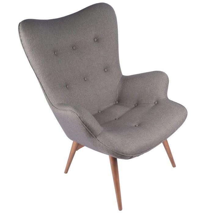 Кресло CONTOUR серый