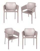 Комплект из 4-х стульев Relax L латте