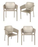 Комплект из 4-х стульев Relax L кремовый