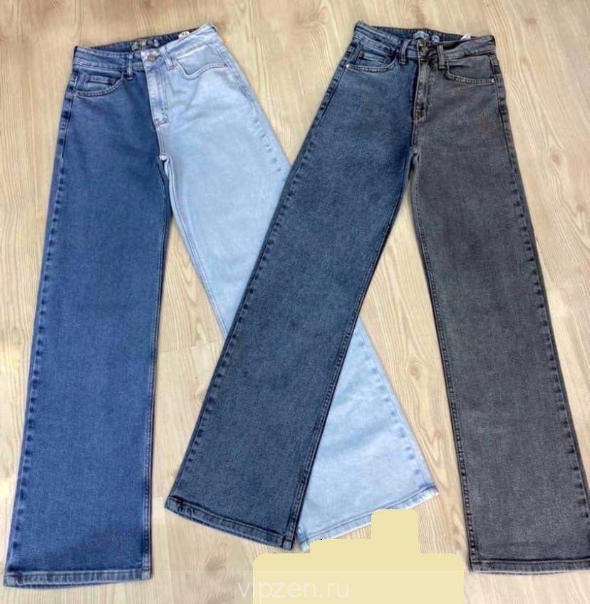 Ультрамодные двухцветные джинсики