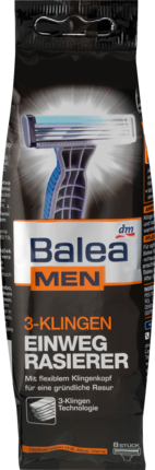 Бритва Balea Men одноразовая с 3-мя лезвиями 8шт