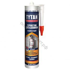 Герметик Tytan Professional  Силикатный для Каминов черный 280мл