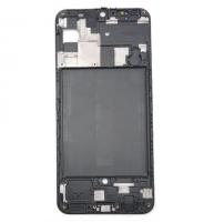 Рамка дисплея (средняя часть) Samsung A505F Galaxy A50 (black) Оригинал