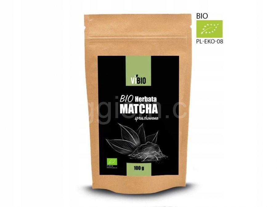 Матча Bio Herbata Matcha, 100 грамм