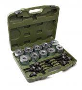814024 Набор для замены сайлентблоков универсальный Ø44 - 82 мм, 32предметов Дело Техники