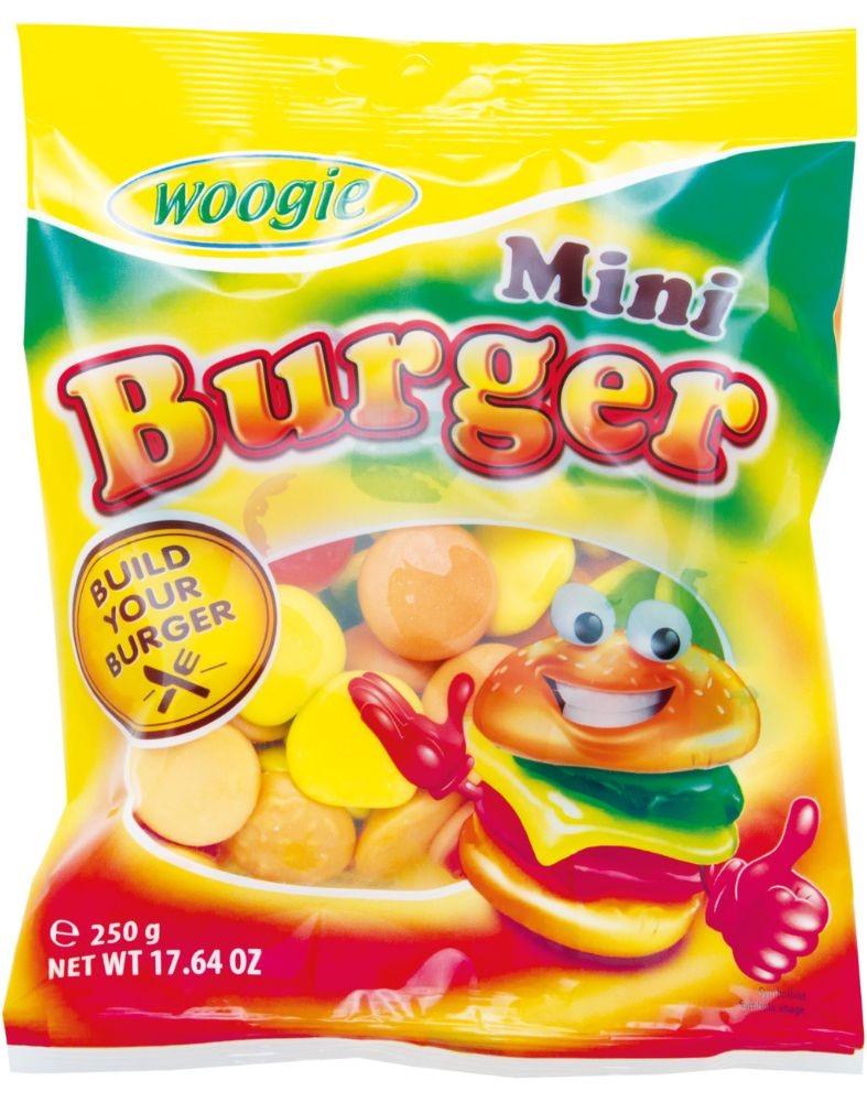 Жевательный мармелад Woogie (бургеры) 250г
