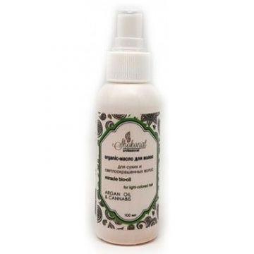 Shokonat - Несмываемое Organic-масло ARGAN OIL & CANNABIS для сухих и светлоокрашенных волос. 100 мл
