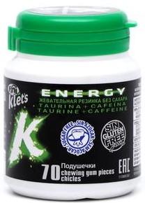 Жевательная резинка FINI KLETS без сахара (energy) 100г (без глютена)
