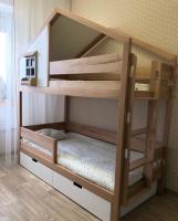 Кровать двухъярусная Домик Roof