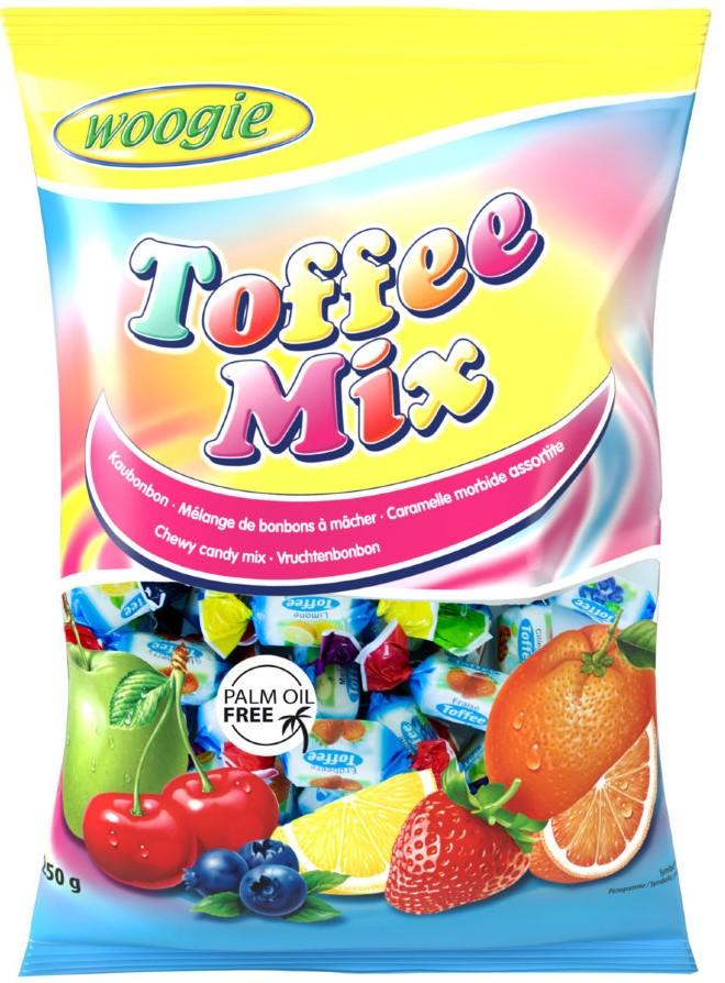 Жевательные конфеты Woogie Toffee Mix 250г