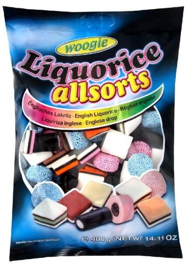 Лакричные конфеты Woogie (ассорти) 400г