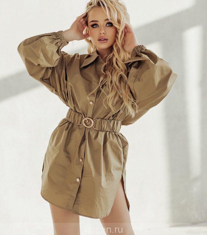 люксовая рубашка-платье В0TT:GА