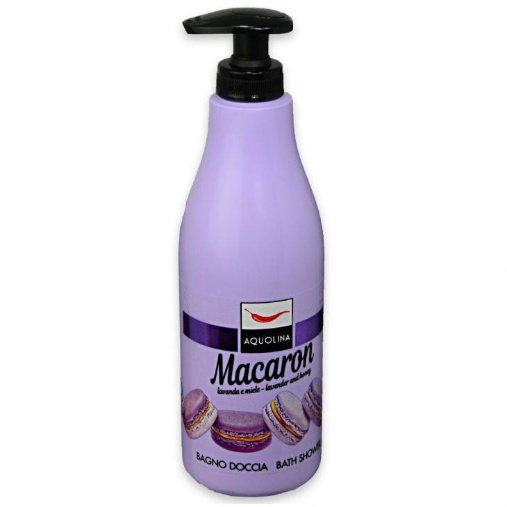 AQUOLINA macaron гель для душа с лавандой и мёдом 500 мл