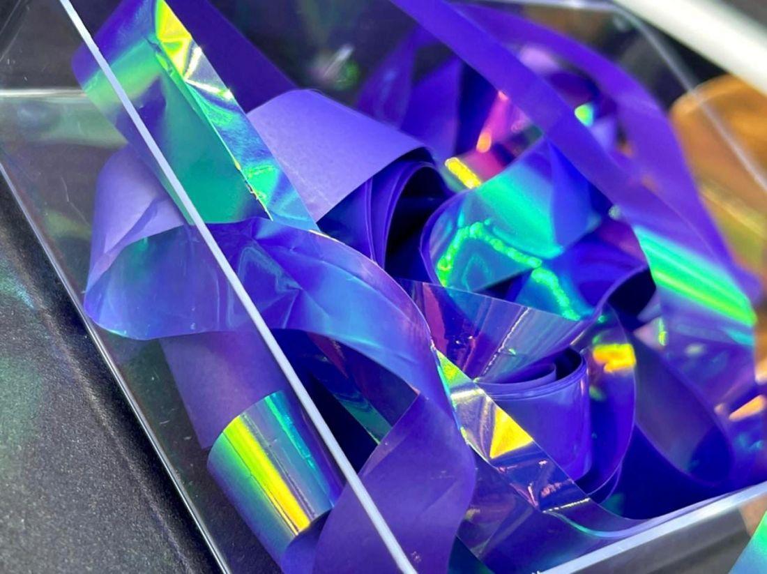 Фольга для дизайна  «Битое стекло»