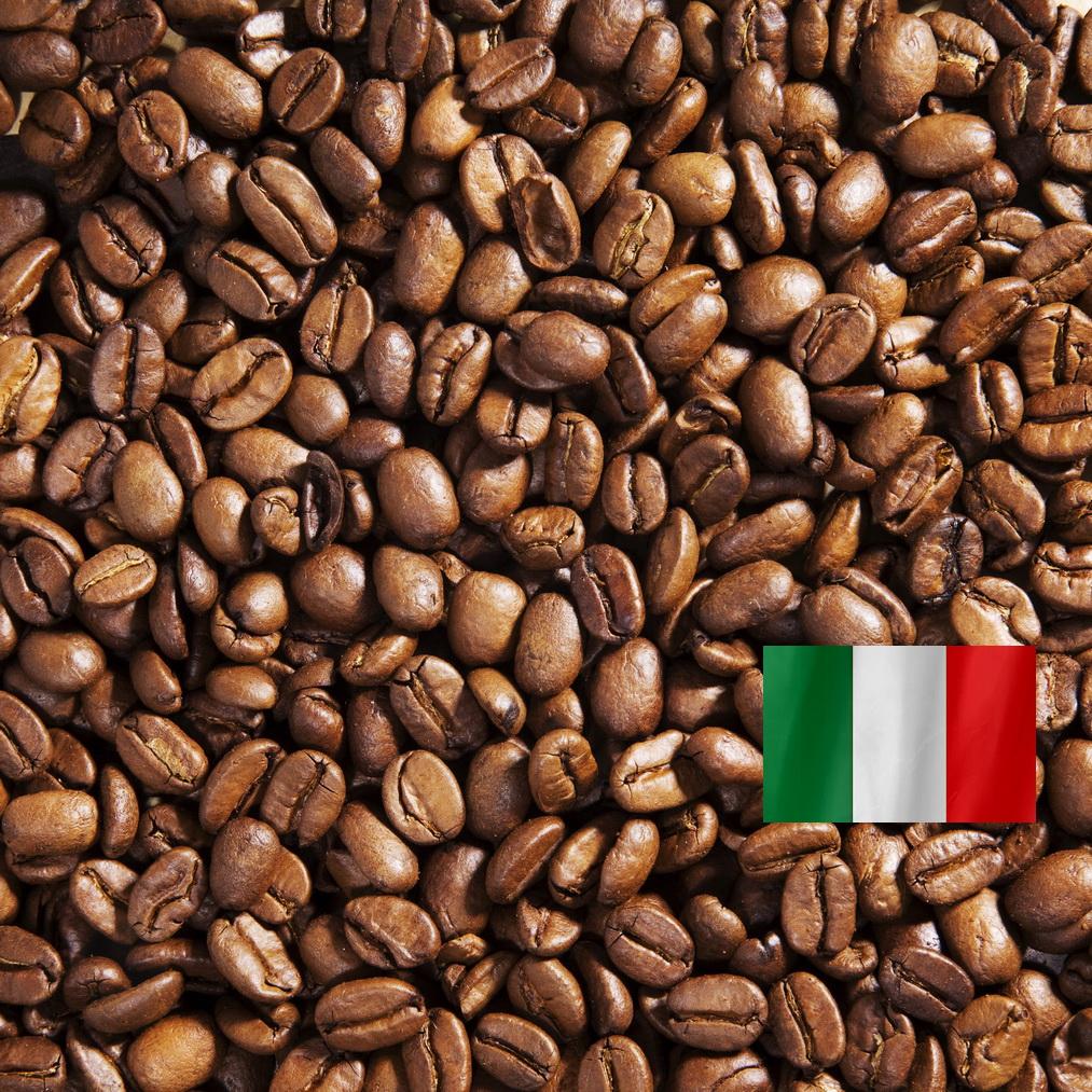 Итальянская обжарка - кофе в зернах