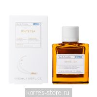 Korres Белый чай, Бергамот, Фрезия Аромат для нее