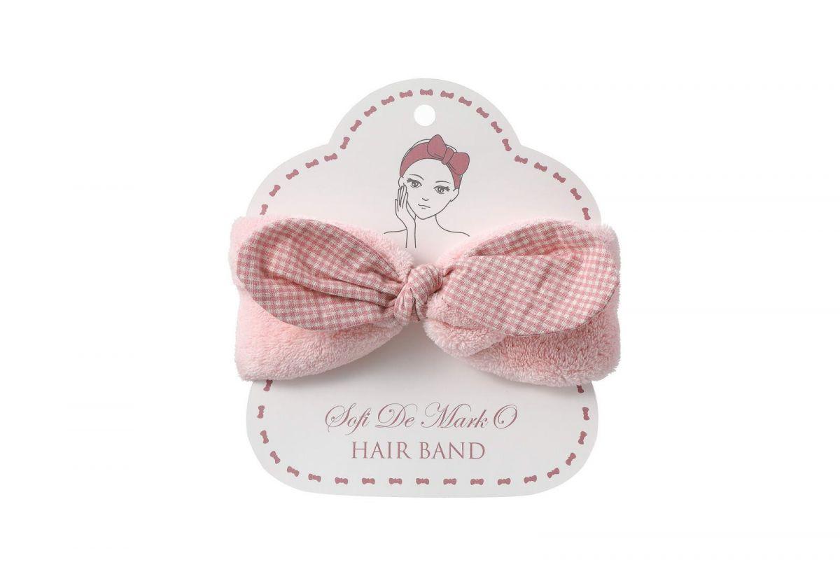 Повязка для волос №3 (розовая)
