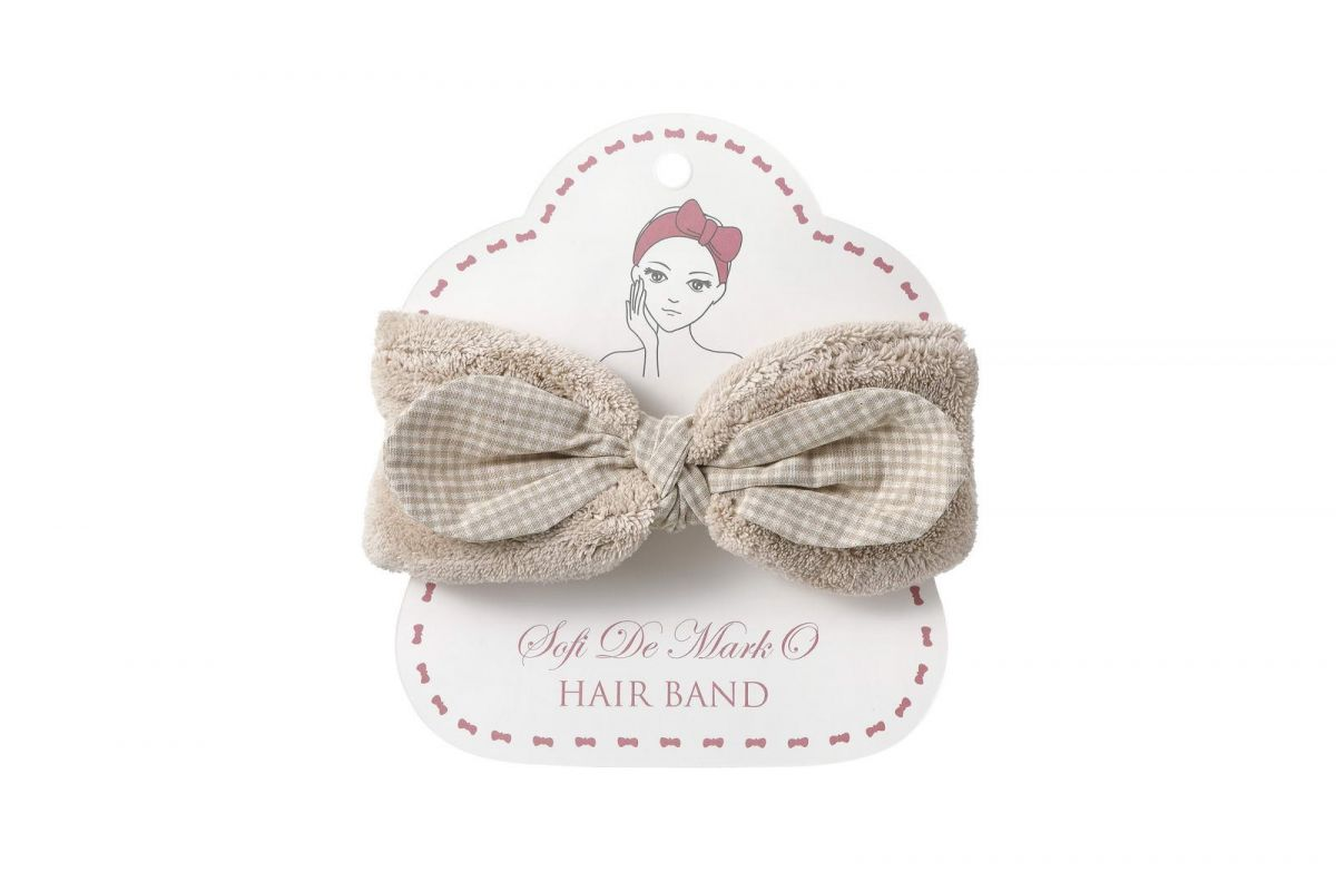 Повязка для волос №3 (беж)