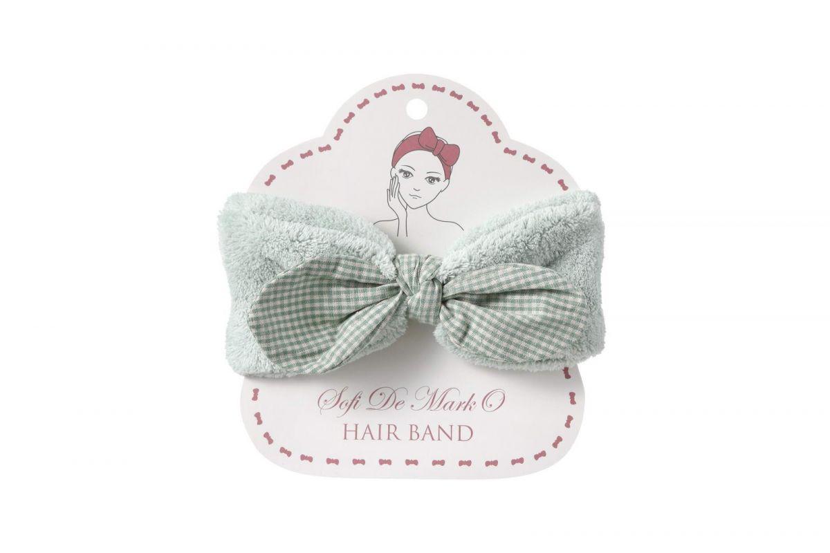 Повязка для волос №3 (зеленая)