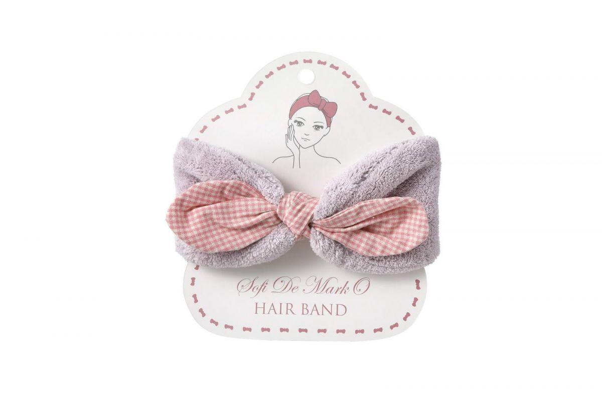 Повязка для волос №3 (лаванда)