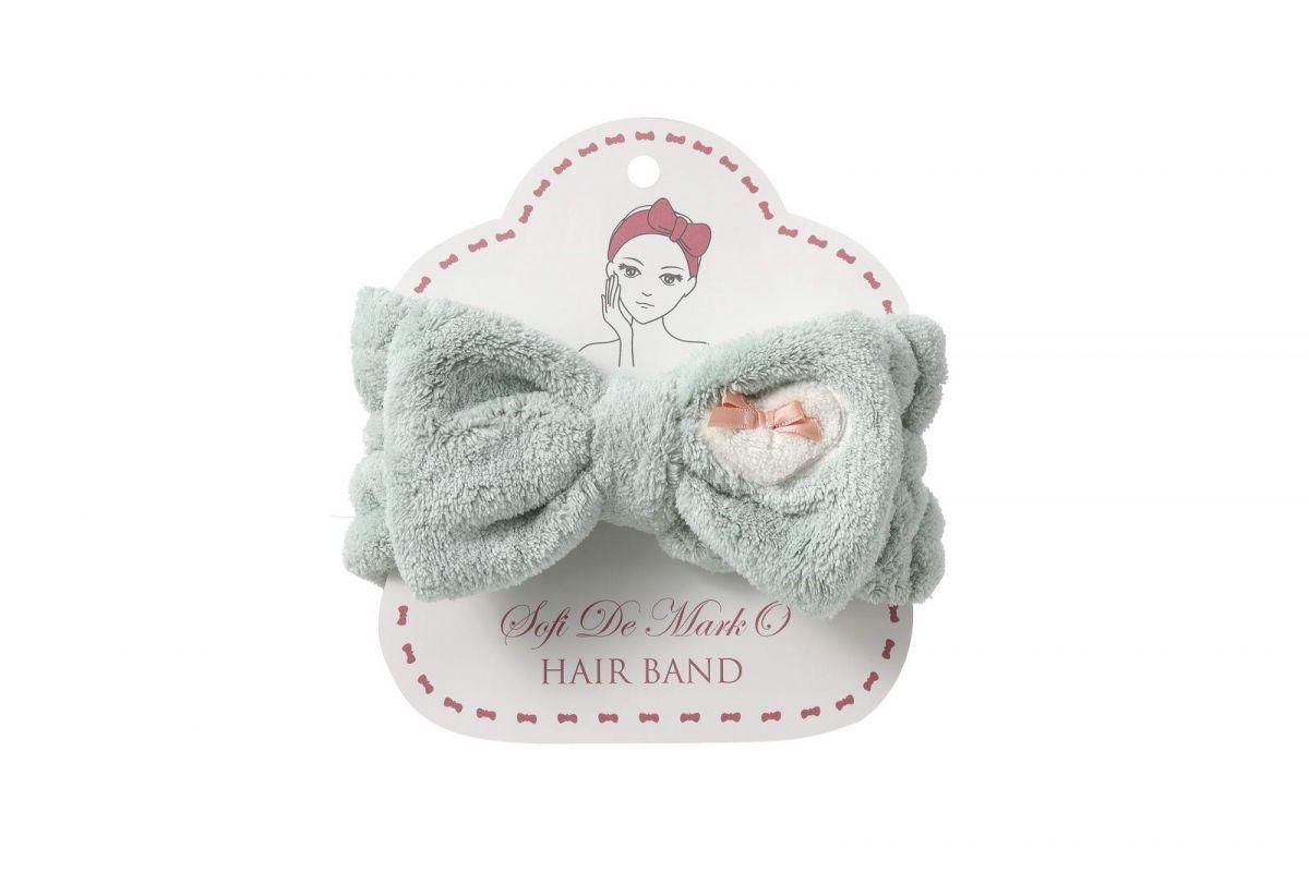 Повязка для волос №4 (зеленая)