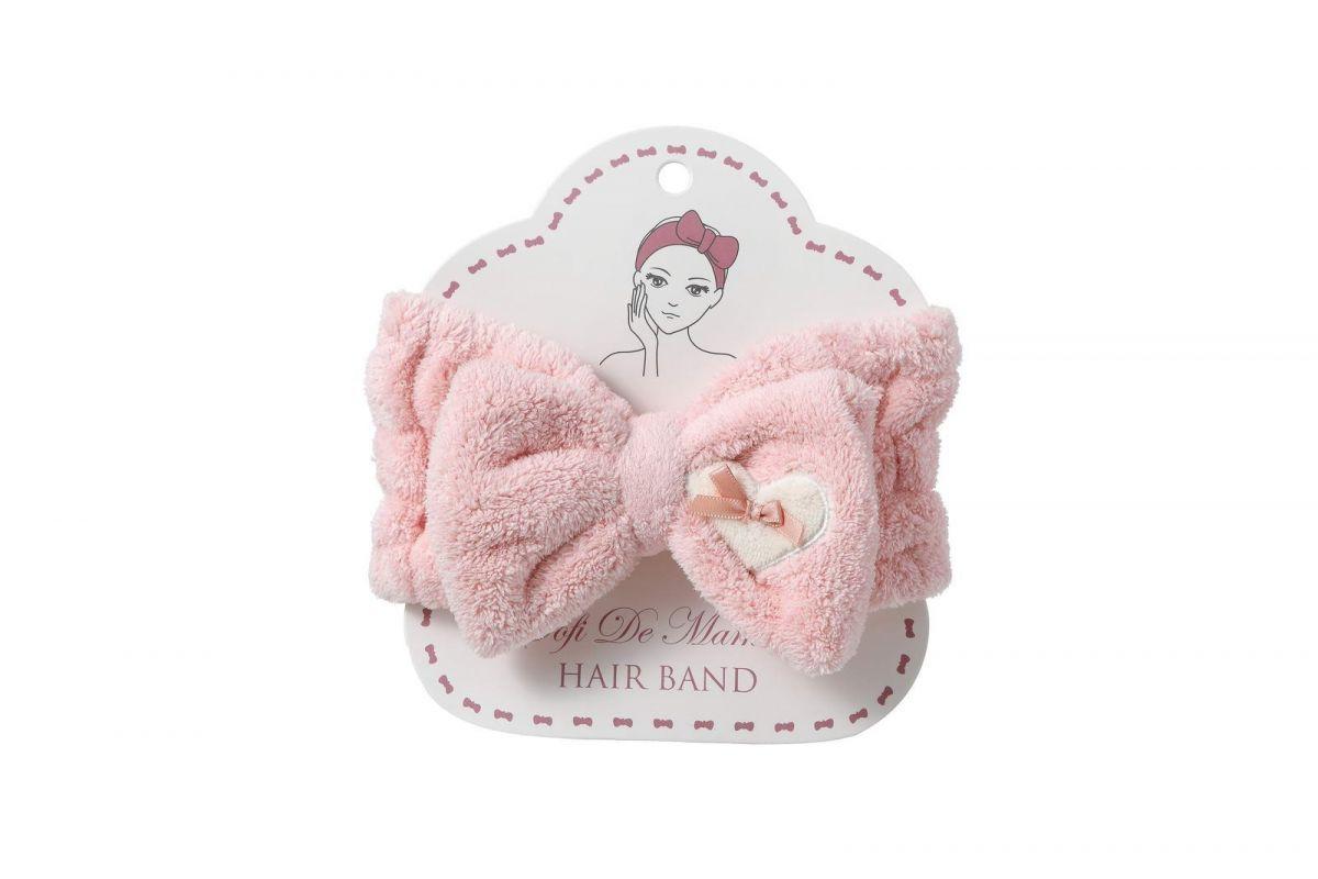 Повязка для волос №4 (розовая)