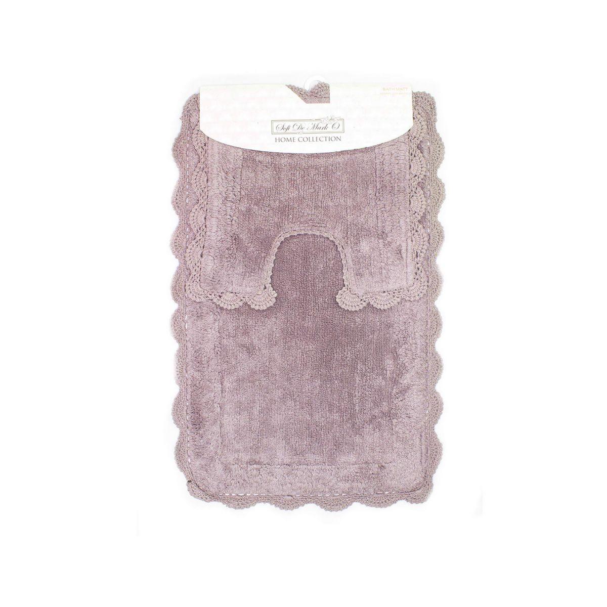 URSULA (мокко) Набор ков. для ванной комнаты 60х100 и 50х50см
