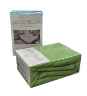 Простынь Махровая (Зеленый) 160-180х200