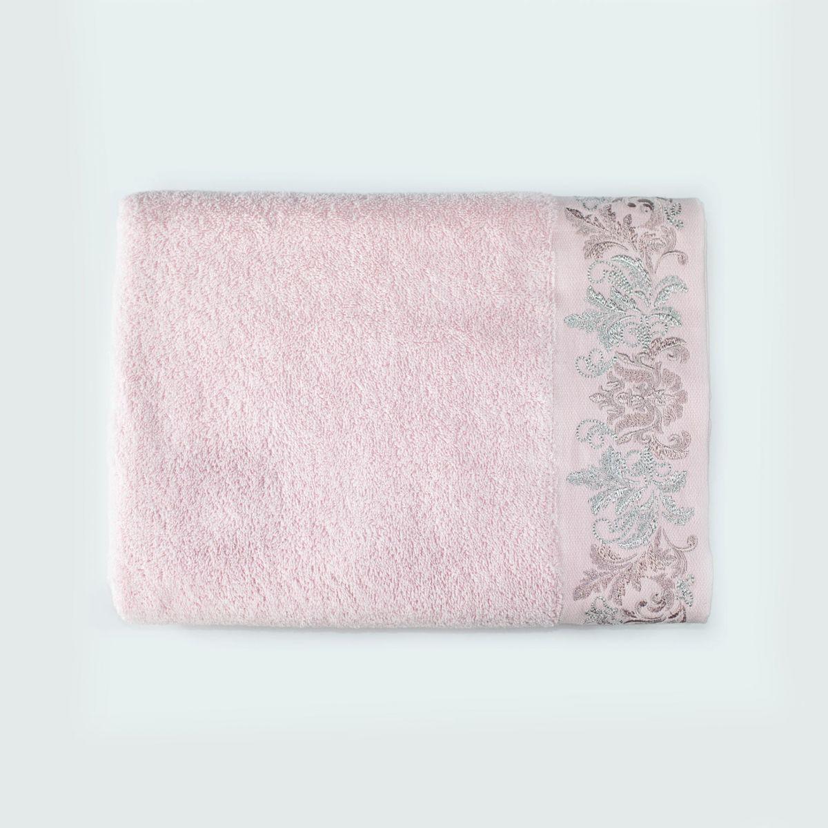 Mia (розовая) 50х90 Полотенце