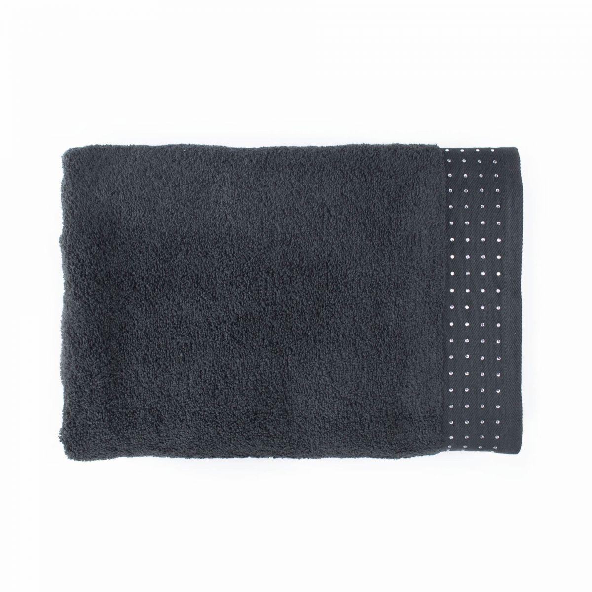 Holly (черная) 50х90 Полотенце
