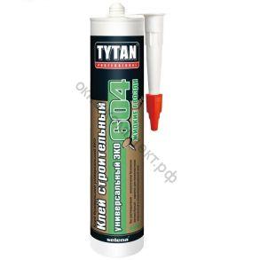 Клей строительный Tytan Professional №604 универс. белый ЭКО 440г