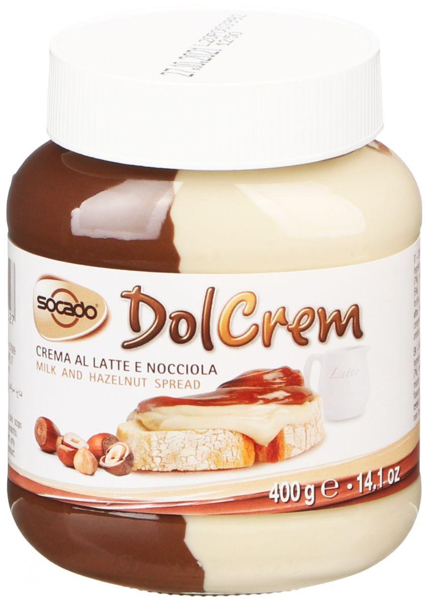 Шоколадный крем Socado Dolcrem (двухцветный) 400г