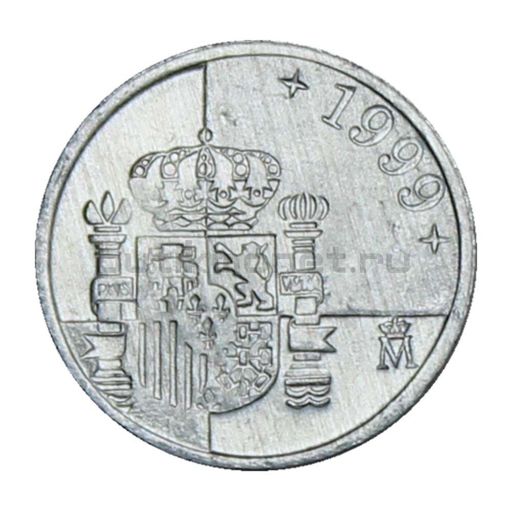 1 песета 1999 Испания