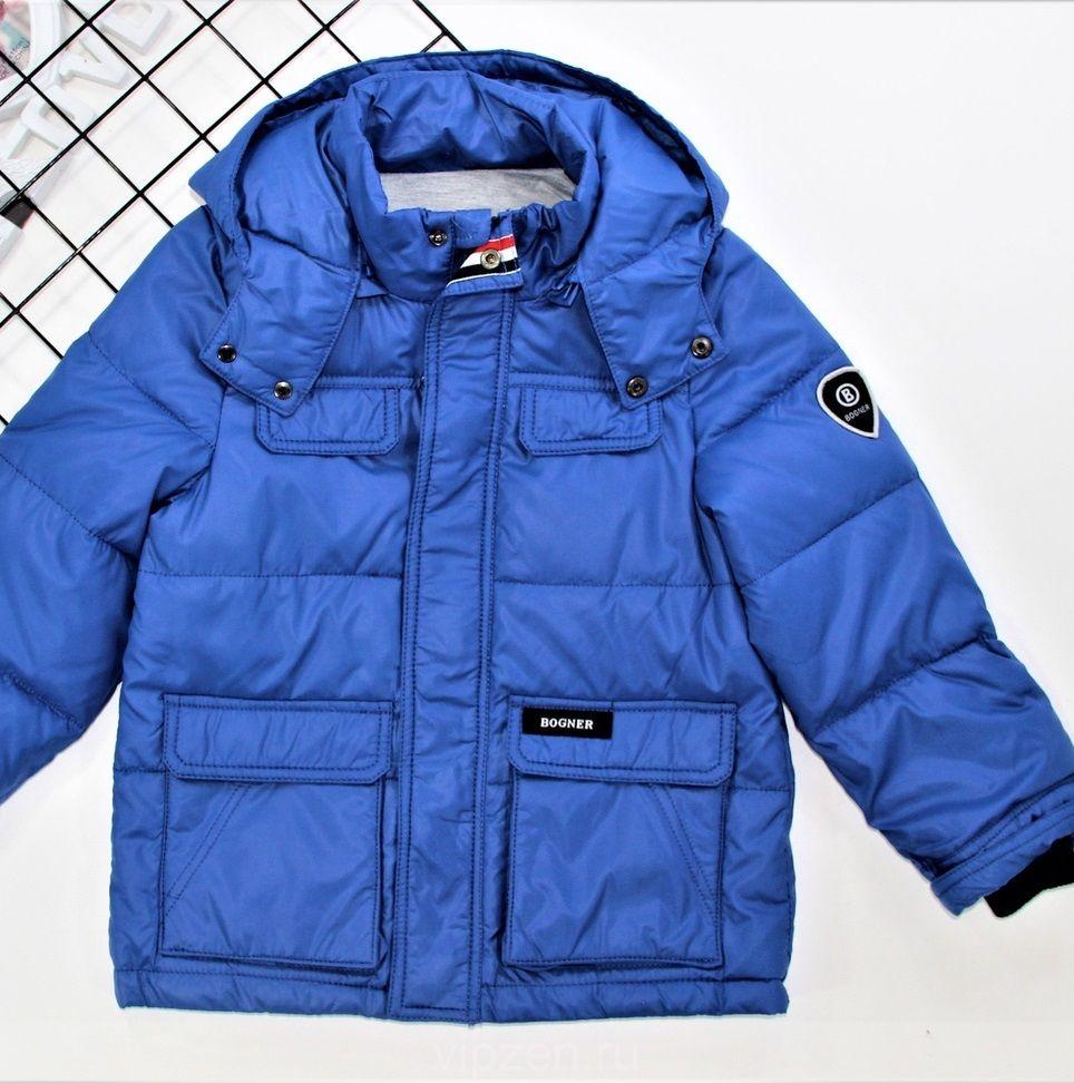 Куртка для мальчика демисезон с легким утеплением