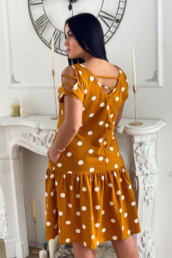 Платье 7268 [оранжевый]