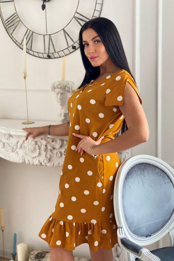 Платье 7271 [оранжевый]