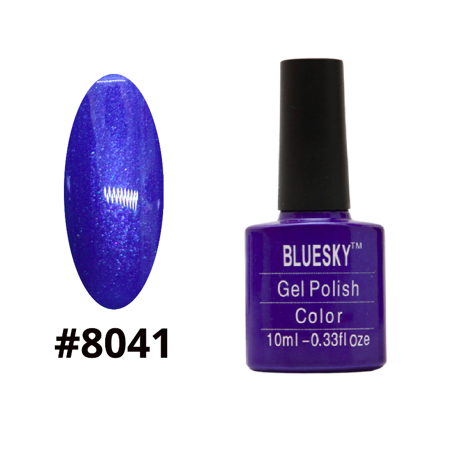 Гель-лак Bluesky Shellac Color 10ml №8041