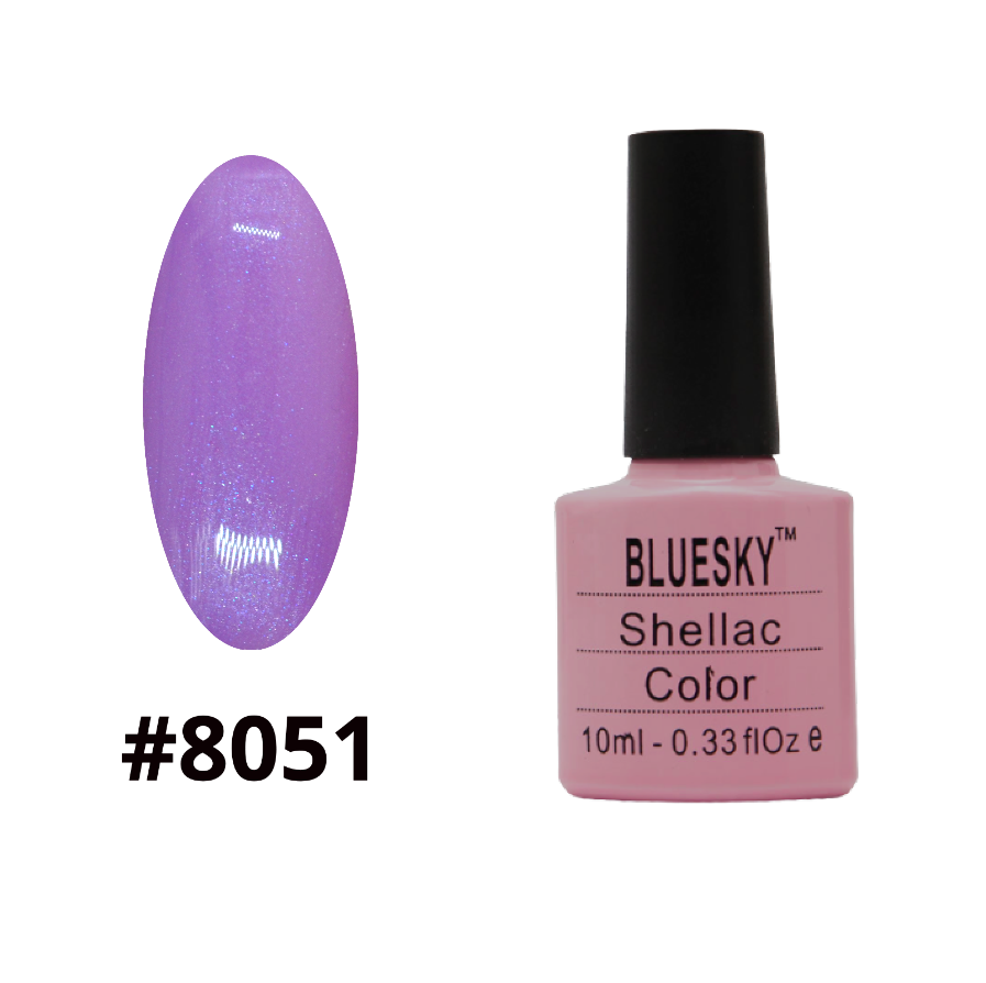 Гель-лак Bluesky Shellac Color 10ml №8051