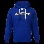 Толстовка CCM Logo Hoody (сине-желтая) YTH-SR