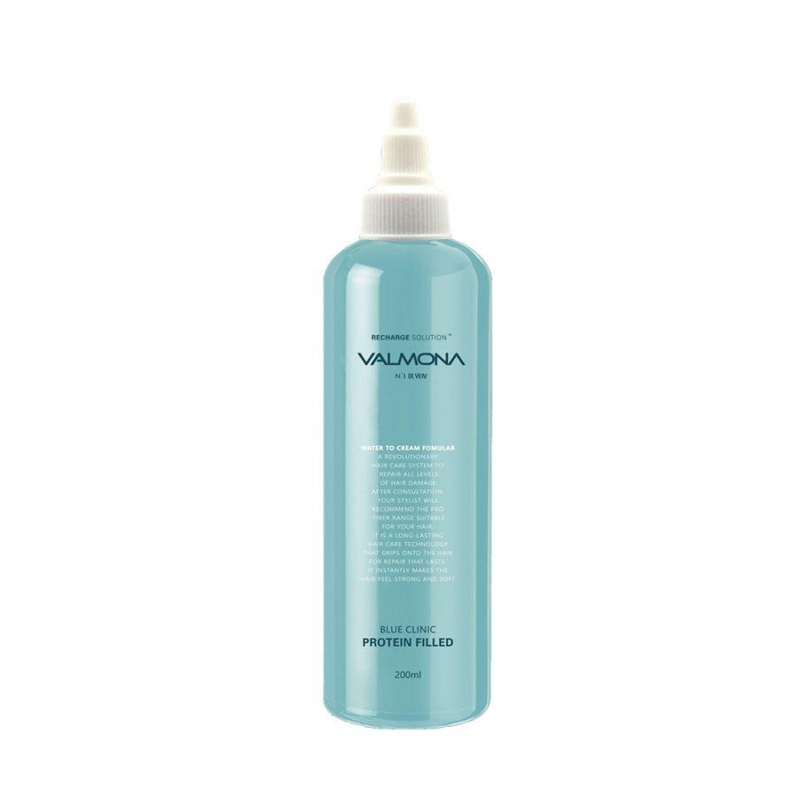 Маска для волос УВЛАЖНЕНИЕ Blue Clinic Protein Filled, 200 мл
