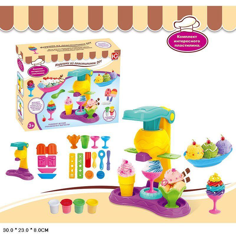 """Игровой набор с пластилином """"Фабрика мороженного"""" (677-C415)"""