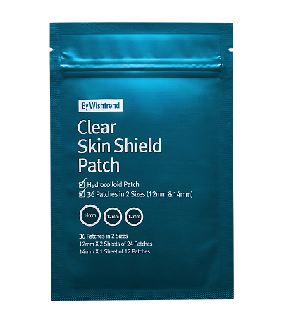 Противовоспалительные патчи By Wishtrend Clear Skin Shield Patch