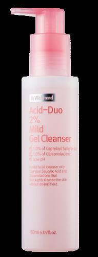 Мягкий гель для умывания By Wishtrend Acid-Duo 2% Mild Gel Cleanser