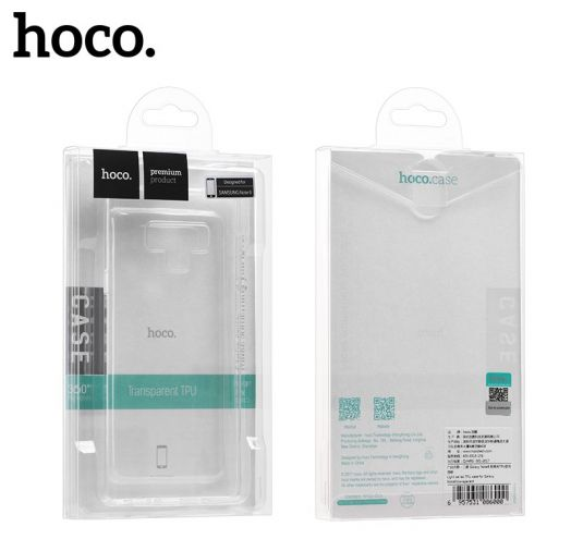 Защитный чехол HOCO Light series для Galaxy Note8, прозрачный полиуретан