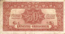 50 грошей Австрия 1944 Оккупация союзными войсками
