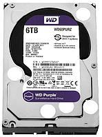 """Жесткий диск HDD 3.5"""" 6Tb Western Digital WD60PURX"""